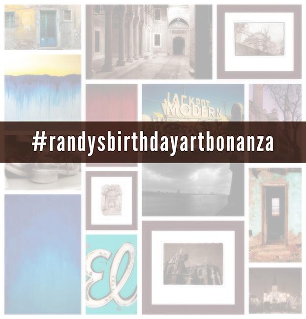 #randysbirthdayartbonanza